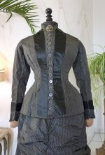 6 antique bustle day dress 1875