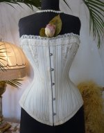 2 antique bridal corset