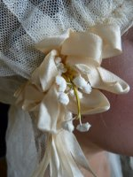 10 antique wedding cap veil 1920