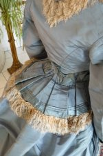 17 antique reception gown 1865