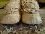 4 antique wedding shoes 1830