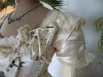 6 antique Ball gown 1890