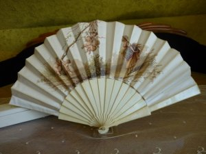 antique Fan 1895