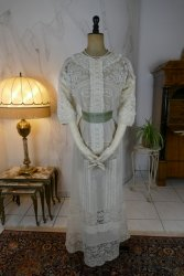 antique tea dress 1908