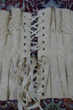 23 antique silk corset 1901