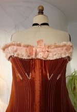 9 antique maternity corset 1885