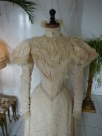 5 antique wedding gown 1895