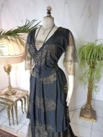 3 antique evening dress 1913