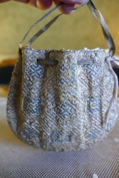 antique late baroque bag 1690