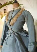 4a antique reception gown 1865