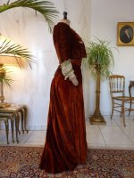 46a antique gown