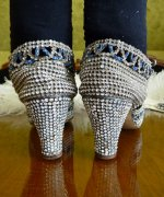 29 antique rhinestone shoes 1920