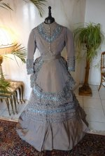 2 antique dress 1877