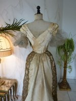 32 WORTH evening dress 1898