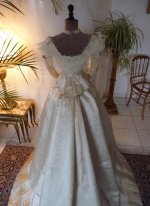 28 antique gown 1865