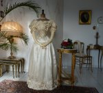 7 antique ball gown 1892