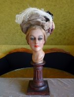 2 antique hat 1900