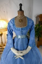 5 antique ball gown 1864