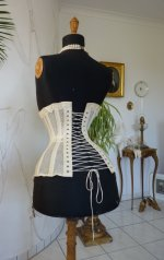 20 antique summer corset 1890