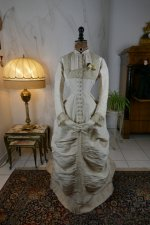 2 antique wedding dress 1878