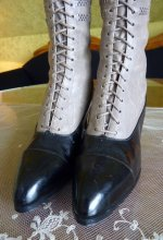 1 antique knee boots 1905