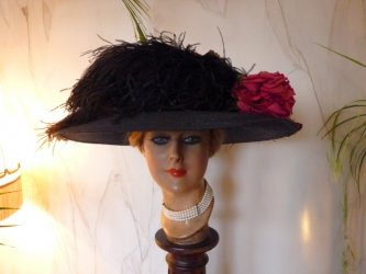 antique hat