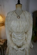 3 antique wedding dress Barcelona 1908