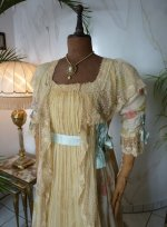 3 antique belle epoque negligee