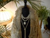 8 antique opera coat