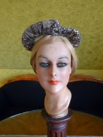 3 antique victorian bonnet 1895