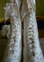 16 antique wedding shoes 1875