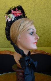 antique bonnet 1885