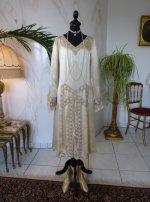 2 antique wedding dress 1920