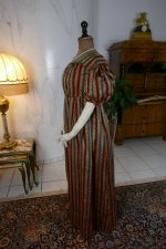 14 antique romantic Period dress 1825
