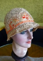 12 antique cloche hat 1927