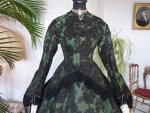 4 antique reception gown 1856