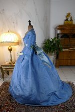 8 antique ball gown 1864
