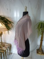 8 antique chiffon shawl 1920