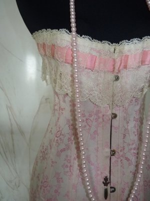 antique Corset, Corset 1910, Corset Au royal Madrid, Corset Madrid, Edwardian corset, antique dress, antique gown, корсет 1910