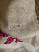 23 antique Balbriggan stockings