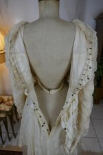 24 antique wedding dress Barcelona 1908