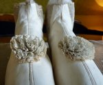 1 antique wedding boots 1845