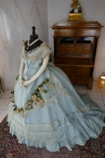 17 antique victorian ball gown 1859