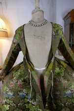27 antique childs court dress 1760