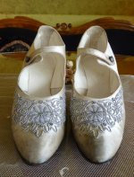 38 antique wedding shoes