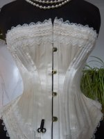 4 antique wedding corset 1880
