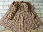 100 antique battenburg lace coat 1906