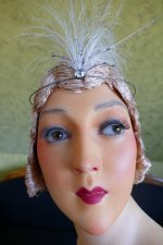 13 antique Pierre Imans wax mannequin 1920