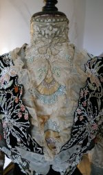 5a antique Gustave Beer gown 1906