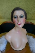17 antique wax Mannequin 1910